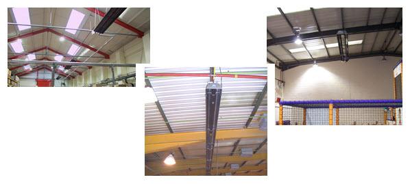 Radiant tube heating